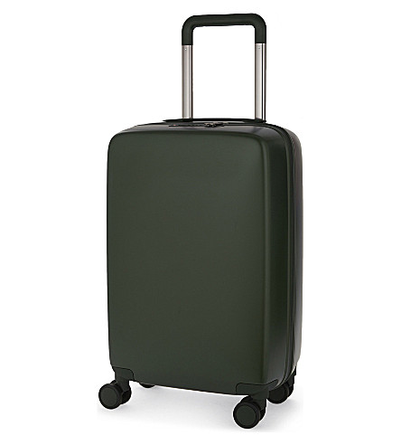 RADEN The a22 four-wheel cabin suitcase 56cm (Hunter+green+matte