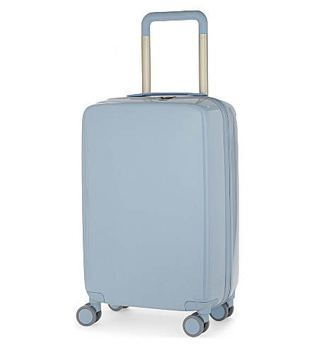 RADEN The a22 four-wheel cabin suitcase 56cm (Light+blue+gloss