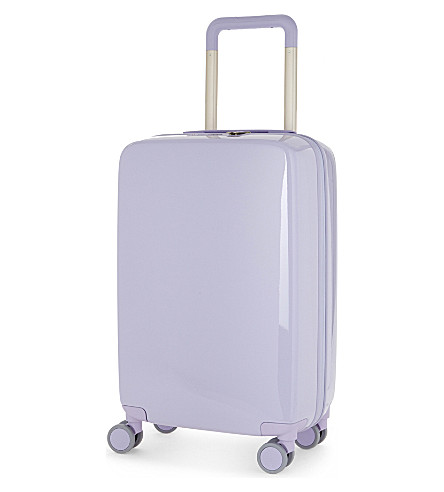 RADEN The a22 four-wheel cabin suitcase 56cm (Light+purple+gloss
