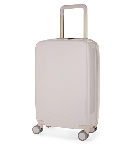 RADEN The a22 four-wheel cabin suitcase 56cm (Light+pink+gloss