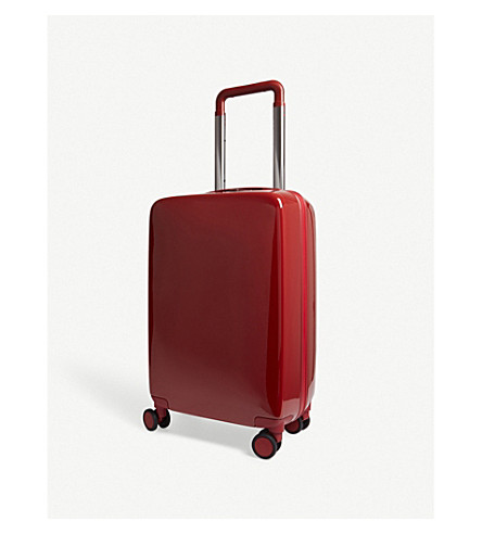 RADEN The a22 four-wheel carry suitcase 55cm (Red