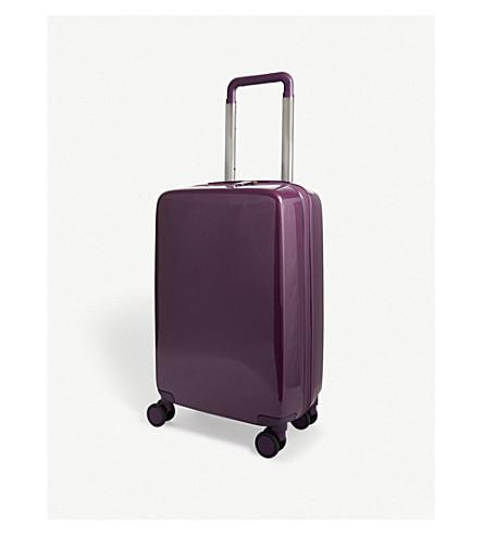 RADEN The a22 four-wheel carry suitcase 55cm (Purple