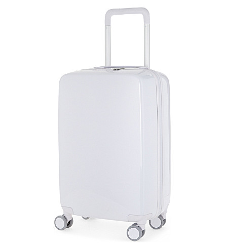 RADEN The a22 four-wheel cabin suitcase 56cm (White+gloss