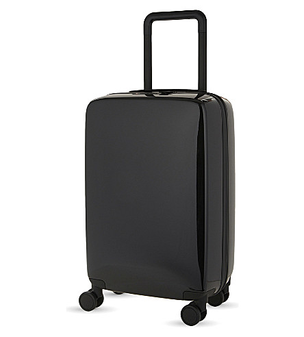 RADEN The a28 four-wheel cabin suitcase 56cm (Black+gloss