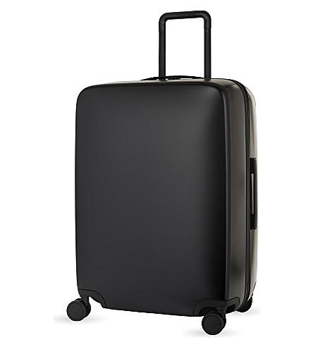 RADEN The a28 four-wheel suitcase 71cm (Black+matte