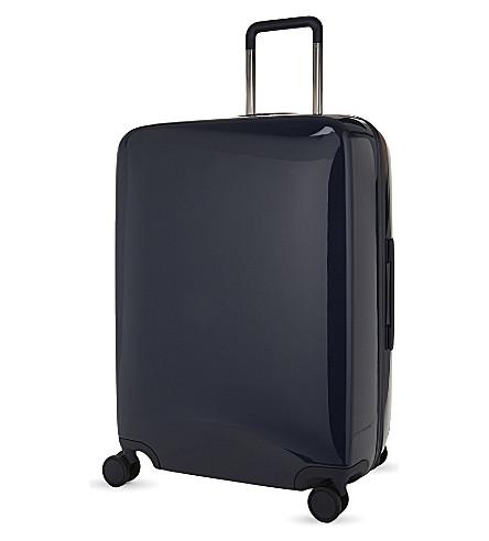 RADEN The a28 four-wheel suitcase 71cm (Navy+gloss