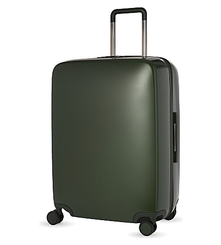 RADEN The a28 four-wheel suitcase 71cm (Hunter+green+matte