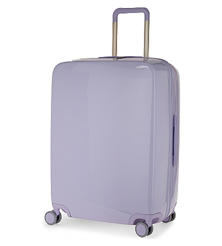 RADEN The a28 four-wheel suitcase 71cm (Light+purple+gloss