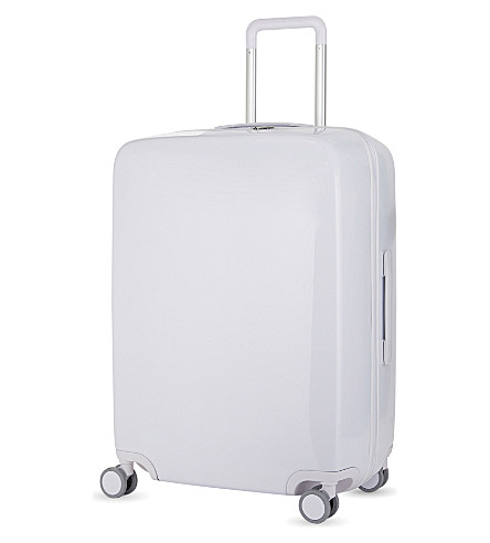 RADEN The a28 four-wheel suitcase 71cm (White+gloss