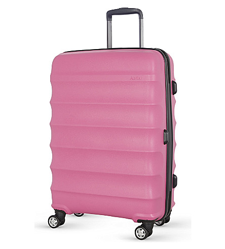 ANTLER Juno medium four-wheel suitcase 68cm (Pink