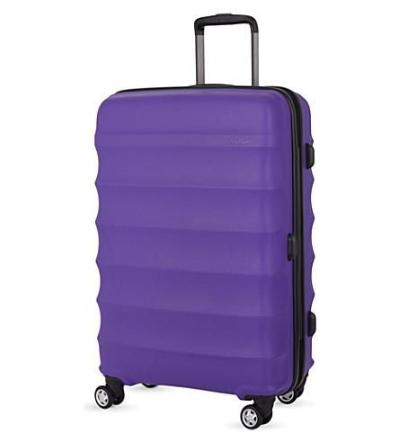 ANTLER Juno large four-wheel suitcase 79cm (Purple