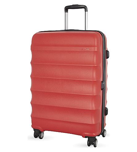 ANTLER Juno medium four-wheel suitcase 68cm (Red