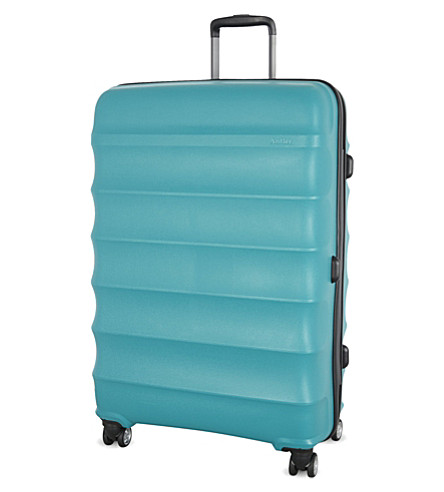 ANTLER Juno large four-wheel suitcase 79cm (Teal