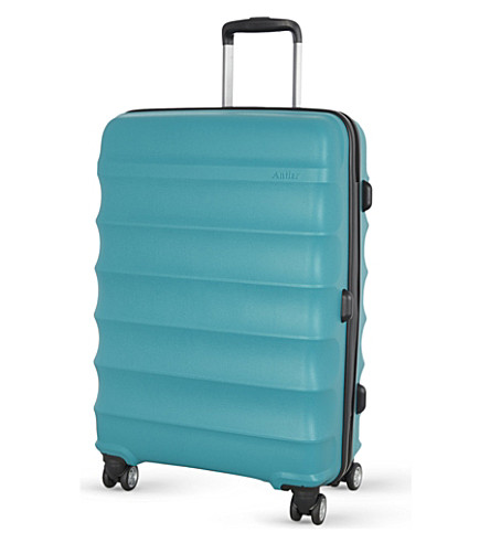 ANTLER Juno medium four-wheel suitcase 68cm (Teal