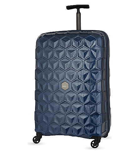 ANTLER Atom four-wheel suitcase 74cm (Blue