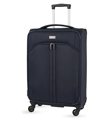 ANTLER Aire large expanding four-wheel suitcase 80cm (Navy