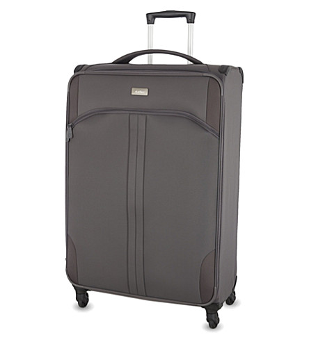 ANTLER Aire large four-wheel expanding suitcase 80cm (Grey