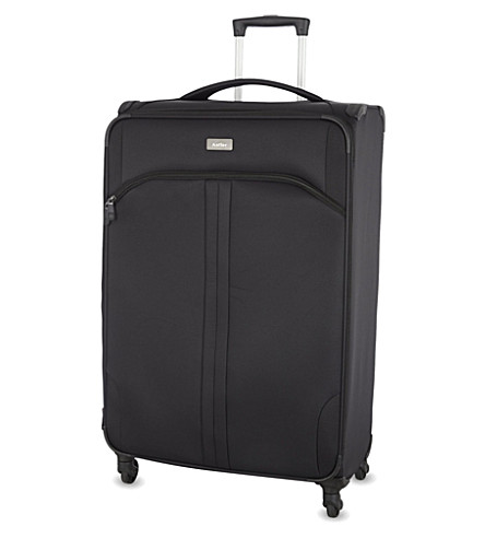 ANTLER Aire large four-wheel expanding suitcase 80cm (Black