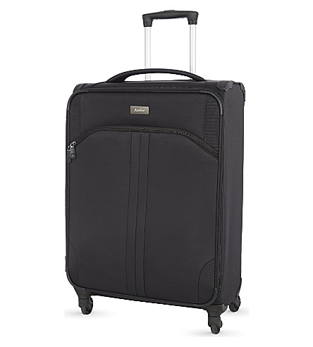ANTLER Aire medium four-wheel suitcase 68cm (Black