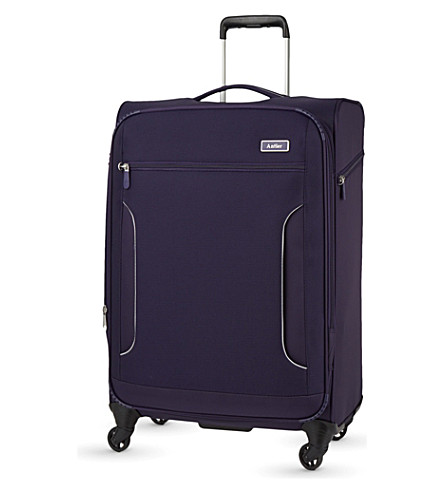 ANTLER Cyberlite II large expanding four-wheel suitcase 77cm (Purple