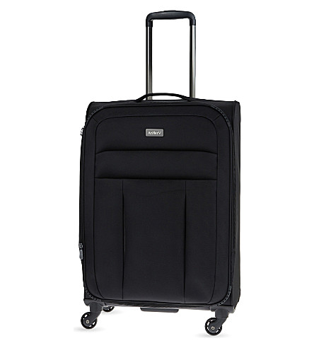 ANTLER New Marcus medium four-wheel expandable suitcase 66cm (Black