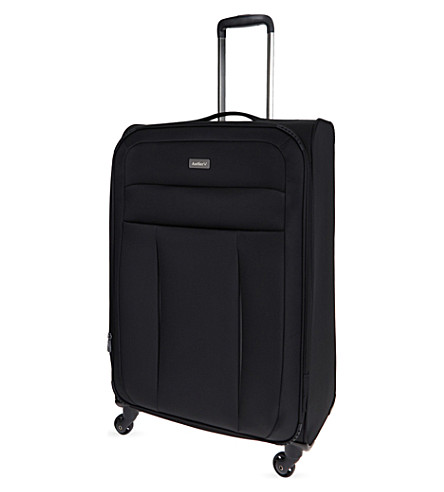 ANTLER New Marcus large four-wheel expandable suitcase 77cm (Black