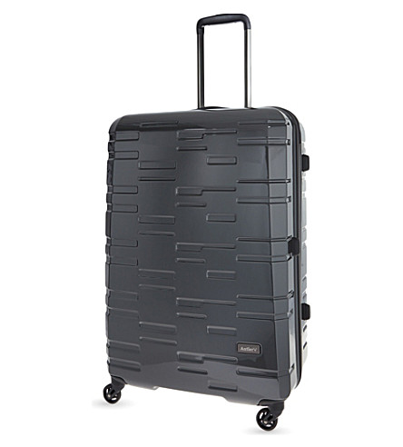 ANTLER Prism large four-wheel suitcase 76cm (Charcoal