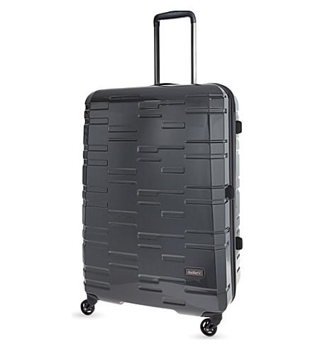 ANTLER Prism large four-wheel suitcase 76cm (Charcoal