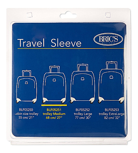 BRICS Medium suitcase cover 68cm (Mixed+colour