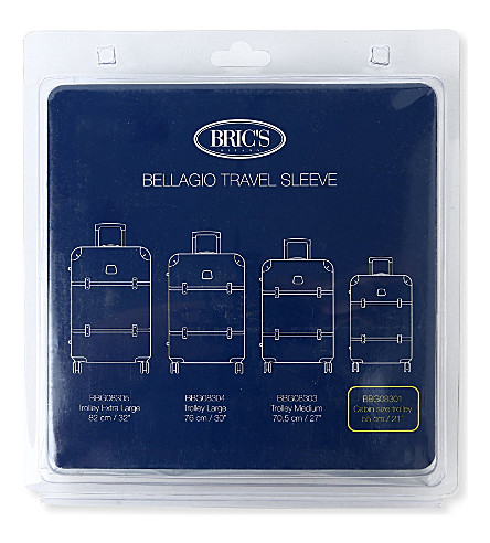 BRICS Bellagio travel sleeve 55cm (Transparent