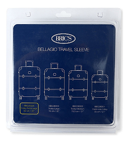 BRICS Bellagio travel sleeve 82cm (Transparent