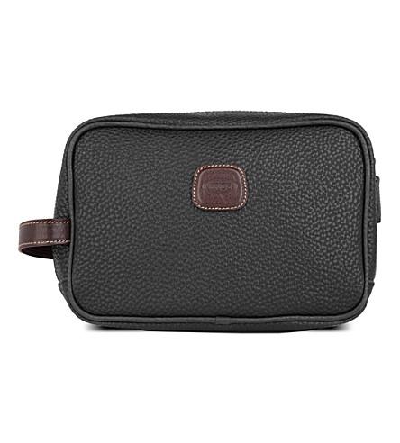 BRICS Magellano wash bag (Black/brown