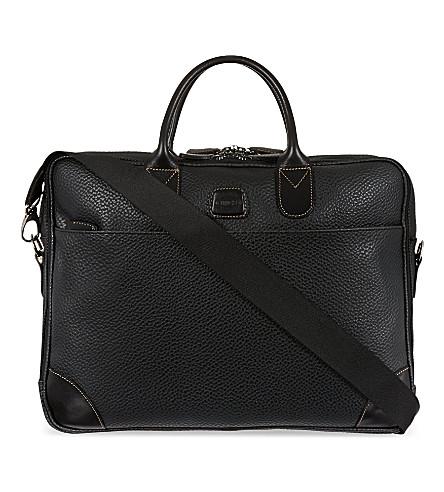 BRICS Magellano briefcase (101+black/black