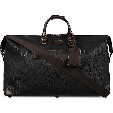 BRICS Magellano medium holdall (Black/brown