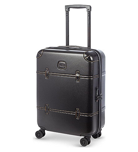 BRICS Bellagio four-wheel suitcase 55cm (Black