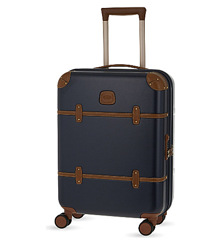 BRICS Bellagio four-wheel cabin suitcase 55cm (Blue