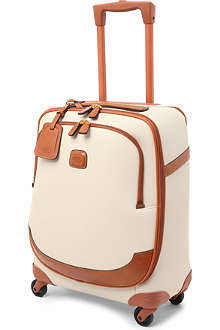 BRICS Bojola leather four-wheel suitcase 54cm