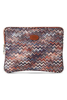 "BRICS Brics Missoni limited edition 17"" laptop case 27cm"