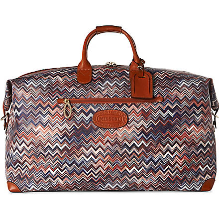 BRICS Missoni limited edition medium travel bag (Tobacco
