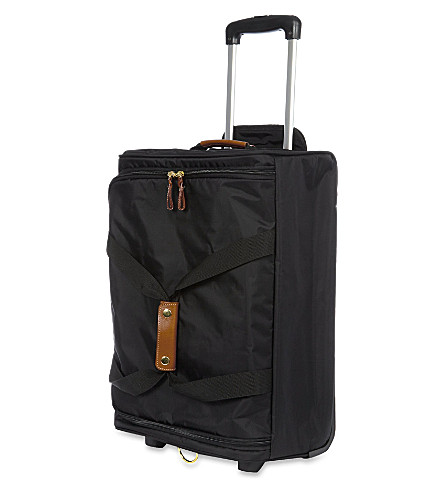 BRICS X Travel wheeled duffle bag 55cm (Black