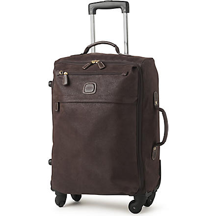 BRICS Life four-wheel suitcase 55cm (Brown