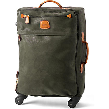 BRICS Life four-wheel suitcase 55cm (Olive