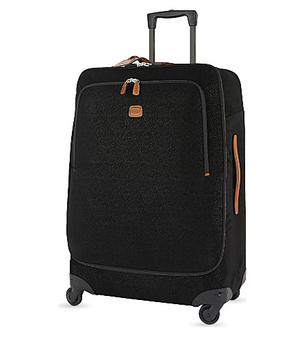 BRICS Life four-wheel suitcase 77cm (Black