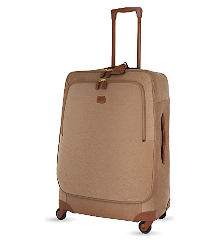 BRICS Life four-wheel suitcase 77cm (Honey