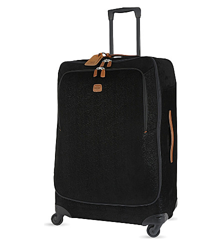 BRICS Life four-wheel suitcase 82cm (Black