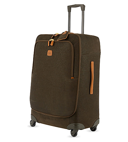 BRICS Life four-wheel suitcase 82cm (Olive