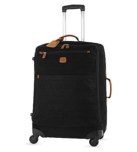 BRICS Life four-wheel suitcase 65cm (Black