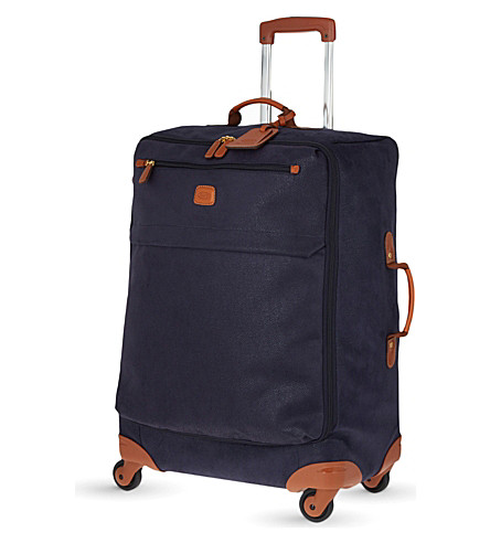 BRICS Life four-wheel suitcase 65cm (Blue