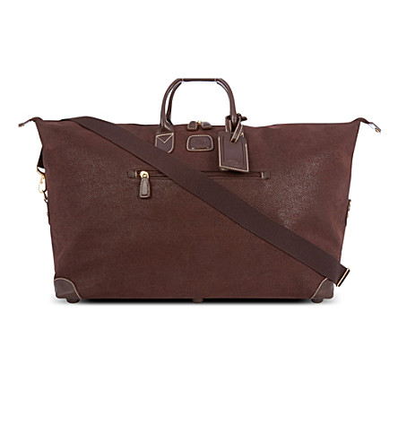 BRICS Life clipper holdall (Brown