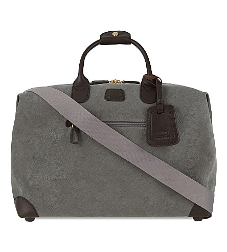 BRICS Life clipper small holdall (Ash+grey